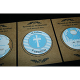 10 Souvenirs Chapa C/ Iman Para Bautismo Personalizados !!