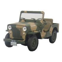 Coleção Veículos Serviço 28 Jeep Willys Exército Brasileiro