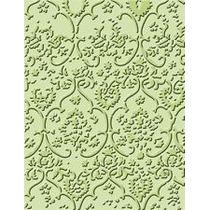 Scrapbook Folder Cuttlebug Textile Para Texturizar Papel