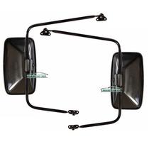 Kit Espelho Retrovisor F1000 E F4000 72 A 84 2 Peças Novo