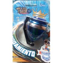 Trompos King Turbo Rodamiento Punta Giratoria Peonza Cometa