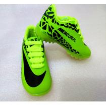 Zapatos Deportivos Bota Guayo Para Niños 21-26