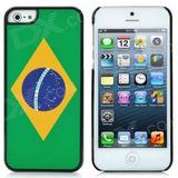 Case Iphone 5 Bandeira Do Brasil Lembrança Copa 2014