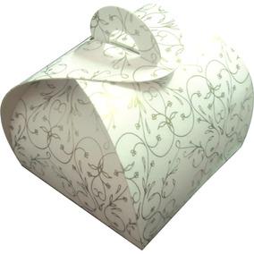 Embalagem Caixinhas Bem Casado Dourado 100 Pçs (especial)