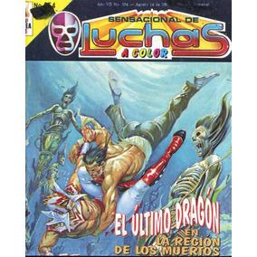 Sensacional De Luchas A Color, Cómics Ejea