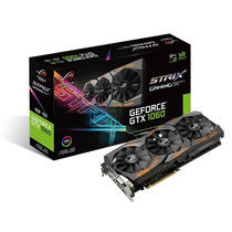 Asus Gtx 1060 Strix 6gb Rog Strix-gtx1060-6g-gaming Aura