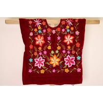 Vestido De Tehuana: Blusa Estilo Frida Kahlo De Tehuana