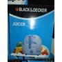 Extractor De Jugos Black & Decker Original!!