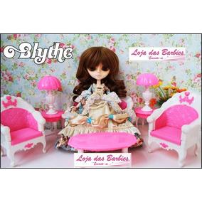 Sala De Estar Para Boneca Blythe * Casa De Bonecas