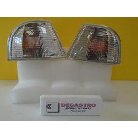 Lanterna Dianteira Santana 91 Acrilica Metalizada (r$ O Par)