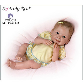 Bebe Reborn- Touch-ativaded Baby Doll- By Ashton Drake