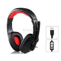 Audifonos Stereo Con Microfono Jedel Usb Gamer Pc Sa