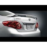 Spoiler Toyota Corolla 2009-2013 Aniversario