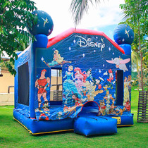 Pula Pula Inflável Castelo Disney 4m X 4m X 4m Frete Grátis