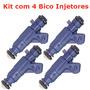 Kit 4x Bico Injetor Gol 1.0 Mi 8v Alc 98-05 Bosch 280155979