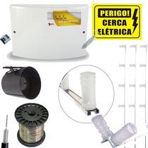 Kit Cerca Eletrica Residencial Terreno 10x20 60 Metros Gcp