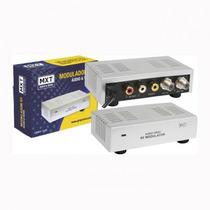 Modulador Rf Mxt Mini De Áudio E Vídeo Bivolt