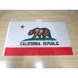 Bandeira Califórnia Estados Unidos Eua Usa 1,50x90cm!