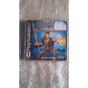 Crusaders Of Might And Magic Ps1