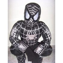 Disfraz Hombre Araña Negro Batman Wolverine Tortugas Venom