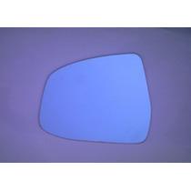 Lente Retrovisor Focus Ford 09 Em Diante Espelho Azul Esquer