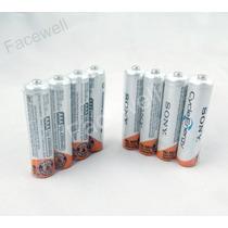 4 Sony Aaa Recarregável 4300mah 1,2v Duracell Panasonic