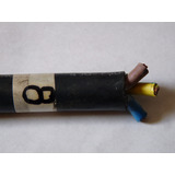 Cables Trifasicos Engomados Awg 3x8 Redondos