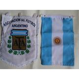 Flâmula Da Seleção E Bandeira Da Argentina
