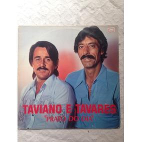 Lp Vinil - Taviano E Tavares - Prato Do Dia Ótimo Disco!!