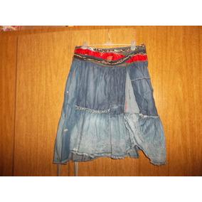 Muy Linda Pollera De Jeans