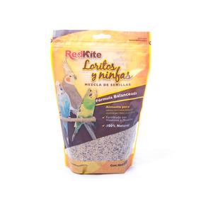 Alimentos Para Aves Loritos Y Ninfas Redkite 500 Grs. +kota