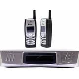 Telefone Sem Fio De Longo Alcance 60 Km Eco Mania C/2 Telel