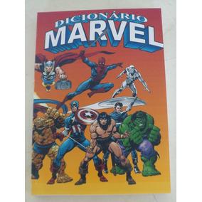 Fac- Símile Dicionário Marvel - Editora Abril