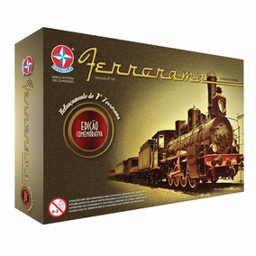 Trem Ferrorama Xp 100 Trenzinho Elétrico Original Estrela