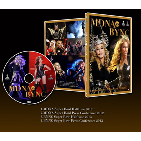 Madonna Mdna & Beyonce Super Bowl Dvd+lp Holiday & True Blue