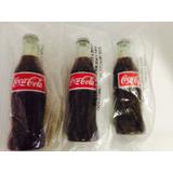 Tres Botellitas Cocacola Portalapices! Selladas! 25c