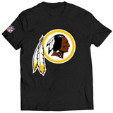 Camisa Camiseta Washington Redskins Blusa Índio Nfl