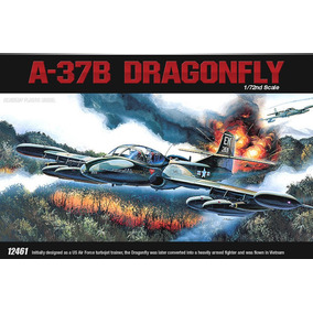 Avião A-37 Dragonfly Academy 1/72 Kit Tipo Revell E Tamiya