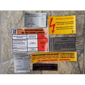 Adesivo Chevette Tubarão 73 A 77 Etiquetas Chevy Marajo Gm