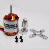 1motor Turnigy Brushless D2836/8 1100kv /2un Frete E Free