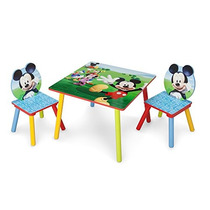 Conjunto Delta Niños Mesa & Silla, Mickey Mouse