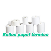 Rollo Termico De 57 X 38.100% Blancos. Envio Nacional Gratis