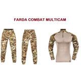 Farda Combat Tshirt Multicam- Invictus.