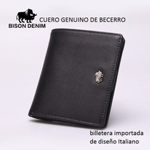 Billetera, Cartera De Cuero Denin, Billabong, Renzo Costa