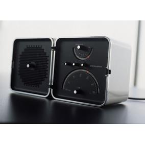 Brionvega Radiocube Caixa De Som Com Rádio Bluetooth