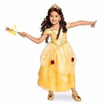 Disfraz Vestido Bella Disney Store Eeuu Original
