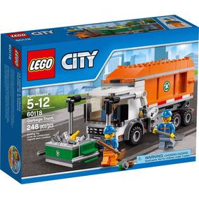 Lego City 60118 Camion Recolector De Basura Mundo Manias
