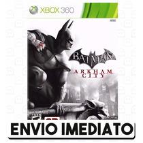 Batman Arkham City Xbox 360 Código De 25 Dígitos Digital