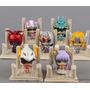 Set Figuras Miniatura Caballeros Del Zodiaco