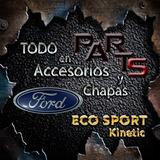 Spoiler Parag Delan Babero Ford Eco Sport Kinetic Y Mas...
